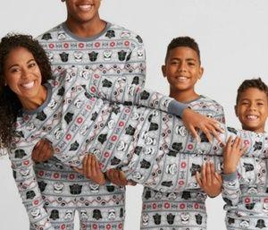 Star Wars Darth Vadar Storm Trooper Pajamas